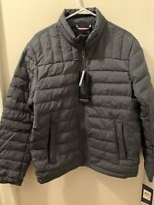 Tommy Hilfiger Mens Packable Natural Down Jacket Small...