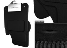 Volkswagen Polo 2009-Onwards Carpet Car Mats, Tailored Fit, Black