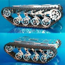 Metal Tracked Crawler Robot Robotic Chassis Platform Car Track Tank For Arudino