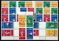 Ungeprüfte Briefmarken aus Deutschland (ab 1945) mit Postfrisch für Olympische Spiele