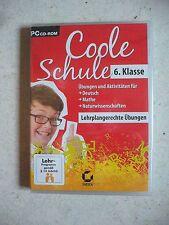 Coole Schule 6. Klasse - PC Übungen für Deutsch Mathe Naturwissenschaften NEU TO