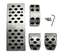 Pedal pad set Aluminum alloy brake gas Automatic transmission AT