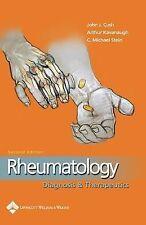 USED (VG) Rheumatology: Diagnosis and Therapeutics by John J. Cush MD