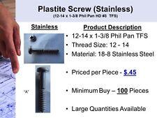 Stainless Steel Plastite Screw (B)