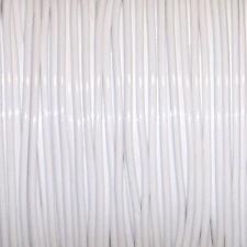 50 YARDS (45m) SPOOL WHITE S'GETTI REXLACE PLASTIC LACING CRAFTS CYBERLOX