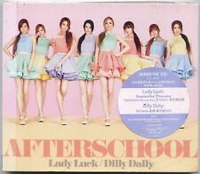 After School: Lady Luck (2012) Japan / CD & DVD & CARD VERSION A TAIWAN