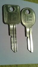 GM 2 1968 thru 1980 Logo Key Blanks