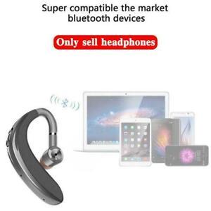 Bluetooth 5.0 Headset Wireless Earpiece Handsfree Earphone Hot Earbuds Best NEW
