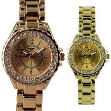 Aluminium Strap Analog Round Wristwatches