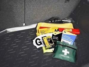 AA EU Legal Car Emergency Breakdown Safety Kit Europe Travel Abroad Roadside Set