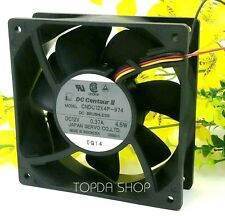 Dc Centaur Cndc12X4P-974 Double ball cooling fan 12V 0.37A 4.5W 120*120*38 3wire