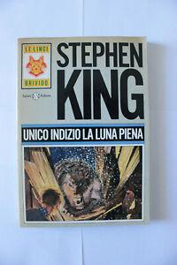 Stephen King UNICO INDIZIO LA LUNA PIENA SALANI PRIMA EDIZIONE 1991 illustrato