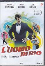 Dvd L'UOMO DI RIO con Jean Paul Belmondo Adolfo Celi nuovo 1964