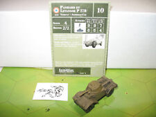 Axis & Allies 1939-1945 Panhard et Levassor P 178 with card 13/60