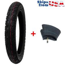 COMBO: Tire Size 16x2.50 + Inner Tube 16x2.50 Fits Electric Bikes Kids Bikes BMX