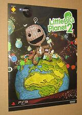 Little Big Planet  Promoheft 24x18cm ( 6 Seiten )
