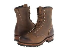 Men's Frye Boots 87923 TAN Logger Tan Oiled Leather