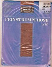 Kunert Strumpfhose m Lycra dunkelbraun Gr. III/42-44 transparent mit Höschenteil