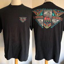 QUIKSILVER Official Vintage 90's Men's Surf Retro Beach Men's T-Shirt Size XL