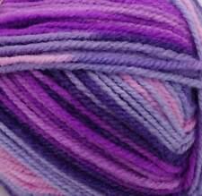 Stylecraft Wondersoft Merry Go Round DK 100g Purple Fizz Self Striping Yarn