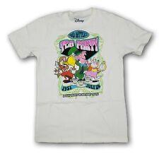 Disney Mad Engine Mad Hatter Tea Party Men's Beige Short Sleeve T-shirt