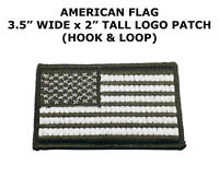 USA AMERICAN FLAG TACTICAL US MORALE MILITARY DESERT Hook N Loop FASTEN PATCH