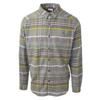 Columbia Men's Green Garden Cornell Woods L/S Flannel (Retail $60)