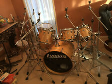 Original LUDWIG made in USA 7Pce Drum Kit Set New Skin with Road Cases