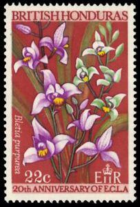 "BRITISH HONDURAS 210 (SG252) - Orchids ""Bletia purpurea"" (pa88042)"