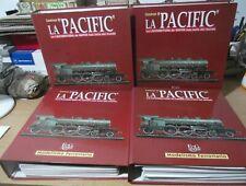 4 tomos fasciculos Construye La Pacific Modelismo Ferroviario