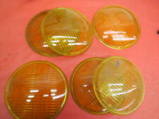 "Vintage Fog Lamp Unity? 6"" amber colored lenses Lot of 6 No Reserve"