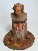 1988 Tom Clark Sculpture Priscilla Ed #49 Retired Pecan Resin Clay Cairn Studio