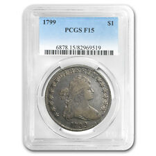 1799 Draped Bust Dollar F-15 PCGS