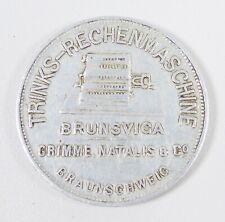 Trinks Rechenmaschine BRUNSVIGA GRIMME NATALIS & Co. Kalender 1912-1932 (da6225)