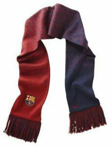 NIKE FC BARCELONA TEAM REVERSIBLE SUPPORTERS SCARF Blue/Red