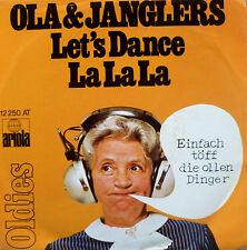 "7"" OLA & JANGLERS : Let´s Dance + La La La // VG+++ \"