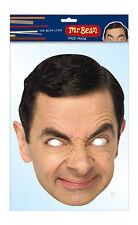 Mr. Bean Official 2D Card Party Face Mask Fancy Dress Up Rowan Atkinson