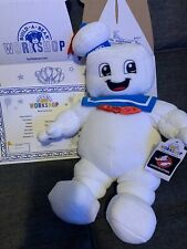 Ghostbusters Build a Bear Stay Puft Marshmallow Man With Box & Birth Certi