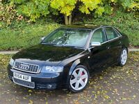2004 54 Audi S4 B6 Saloon 4.2 V8 Auto - FSH Carbon Trim 63K miles only