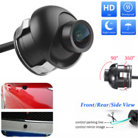 360° Car Rear Front Side View Backup Reversing Camera Waterproof Night Vision