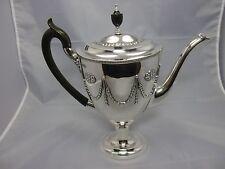 wunderschöne Kanne London ~1907 Sterling Silber 925 punziert William Hutton & S.