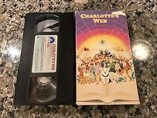 Charlottes Web VHS! 1972 The Magic School Bus Mighty Mouse And Friends