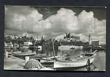 View of the Harbour & Cathedral, Mallorca, Palma. Posted 1978.