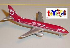 Schabak 1:600 Scale Diecast 2925-205 New York Air Boeing 737-300 Limited Edition