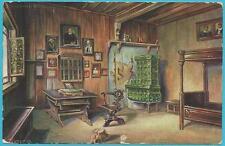 """Abbildung """"Die Lutherstube"""" mit der Bahnpost als Postkarte von Eisenach!"""