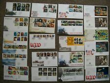 2011 YEAR SET - COMMEMORATIVF FDC s - Excellent Condition FDCs - 22 COVERS