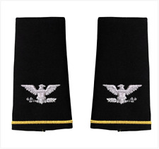 GENUINE U.S. ARMY EPAULET: COLONEL - MALE LARGE