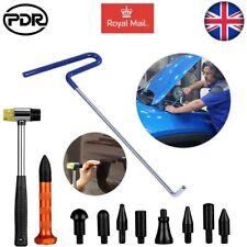 11× Car Body Paintless Dent Repair Kits Dent Puller Rod Hail Removal Hammer Tool