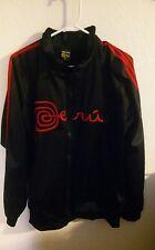 Mens tuki Art Winter Casual Jacket Coat black xl size smooth siky