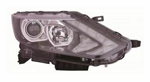 QASHQAI Hatch 14 to 17 Headlamp LED Daytime Running Lamp Halogen RH
